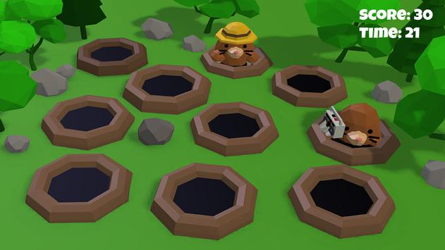 Hammer the hole with Mole 3D screenshot 4