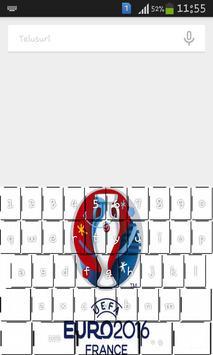 EURO 2016 Keyboard poster