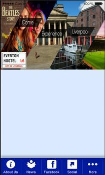 Everton Hostel Liverpool poster