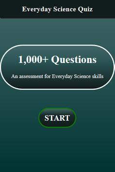 Everyday Science Quiz screenshot 1