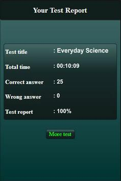 Everyday Science Quiz screenshot 6