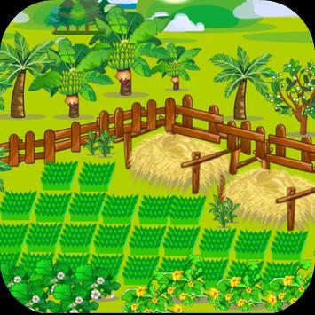 เกมส์ปลูกผักปลูกสวน poster