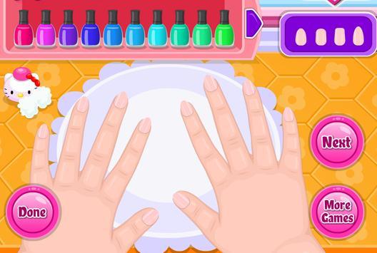เกมส์เเต่งเล็บมือสวย screenshot 1