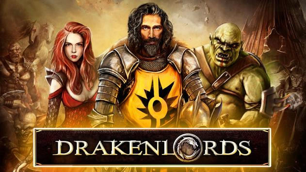 Drakenlords – Magic Duels Trading Card Game TCG poster