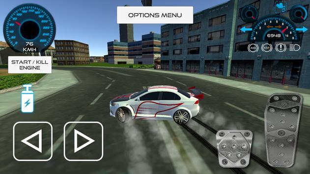 Lancer Drift In The City apk screenshot
