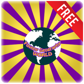 Funny Geography World Free icon