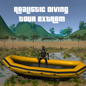 Realistic Diving tour extrem icon