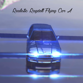 Flying Ragdoll Car simulator icon