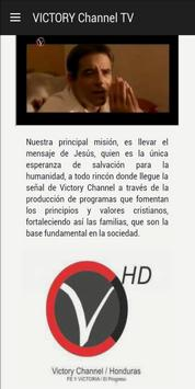 VICTORY Channel TV poster