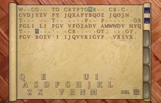Cryptogram Crack poster