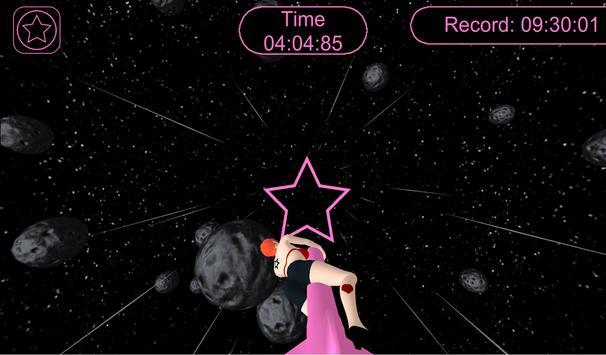 Girl On A Rocket Free apk screenshot