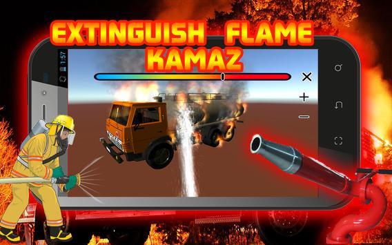 Extinguish Flame KAMAZ poster