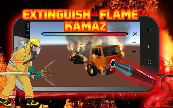 Extinguish Flame KAMAZ screenshot 1