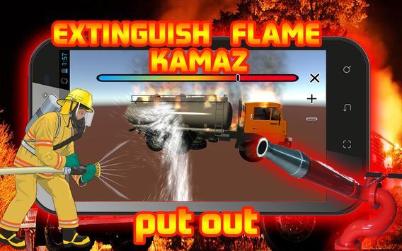 Extinguish Flame KAMAZ screenshot 8