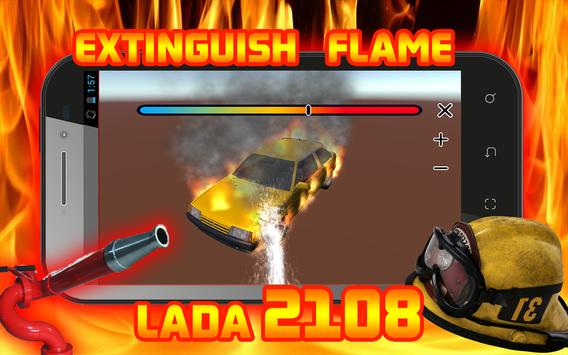 Extinguish Flame VAZ 2108 poster