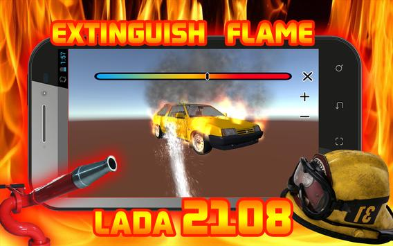 Extinguish Flame VAZ 2108 screenshot 5