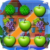 Delicious Fruit Link Deluxe icon