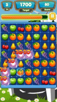 Delicious Fruit Link Deluxe apk screenshot