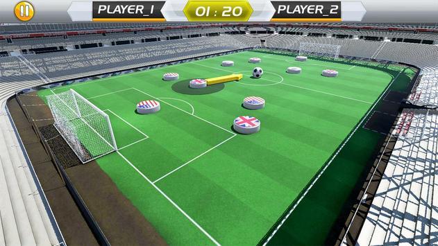 Finger Play Soccer dream league 2018 screenshot 4