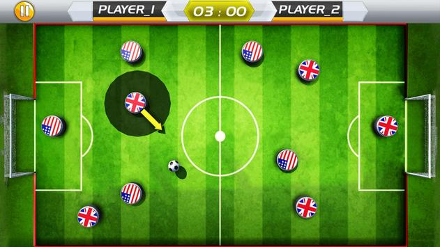 Finger Play Soccer dream league 2018 screenshot 6