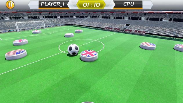 Finger Play Soccer dream league 2018 screenshot 1