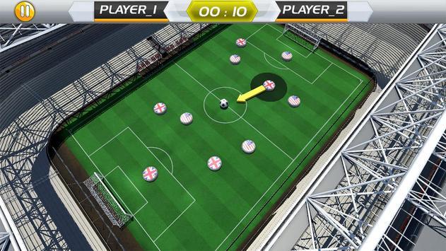 Finger Play Soccer dream league 2018 screenshot 3