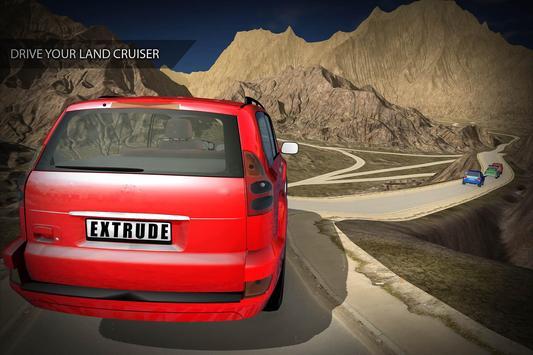 luxury land Cruiser racing screenshot 3
