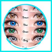 Eye Contact Lenses Color icon