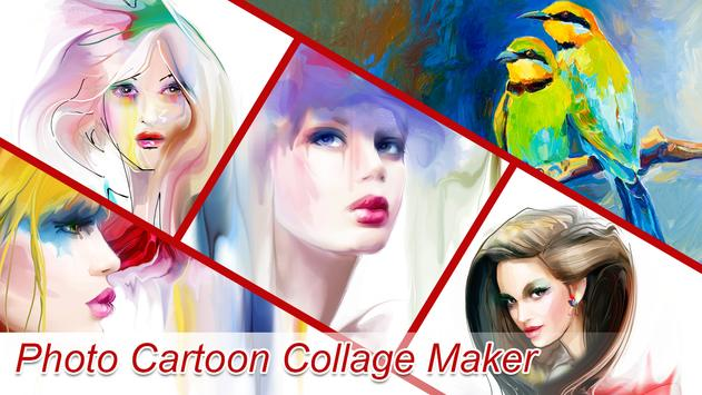 Photo Cartoon Collage Maker apk screenshot
