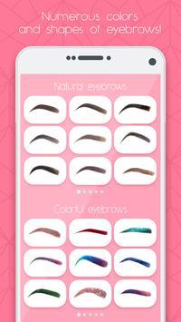 Eyebrow Makeup poster