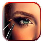 Eyebrow Editor Makeup App icon