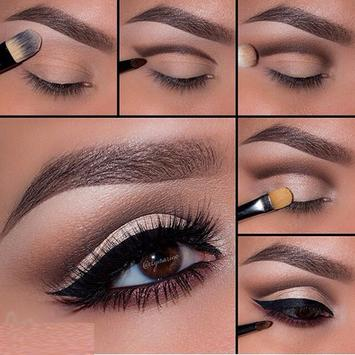 Eyes Makeup Step by Step poster