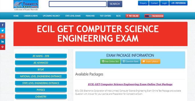 ECIL GET COMPUTER SCIENCE ENGINEERING EXAM FREE poster