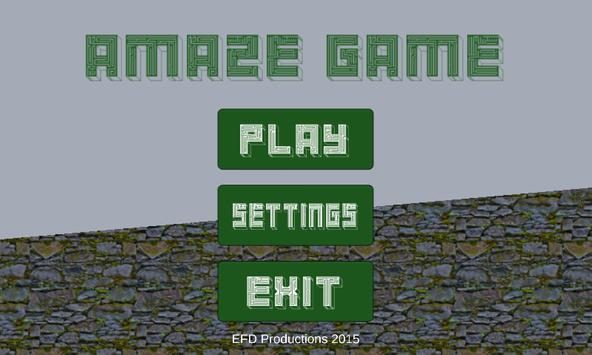 aMAZE Game apk screenshot