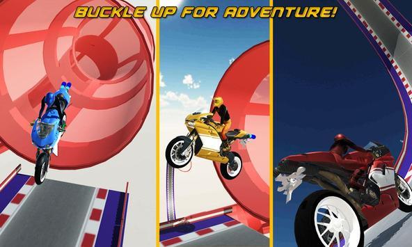 GT moto rider stunts 3D apk screenshot