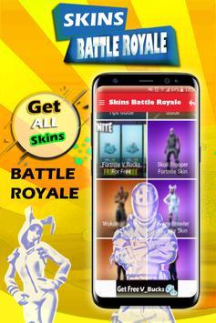 Skins of Battle Royale 2018 poster