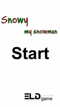 Snuky - My snowman poster
