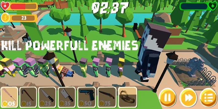 Park Defense apk screenshot