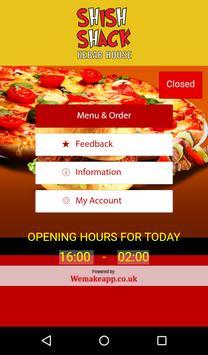 Shish Shack Kebab Pizza poster