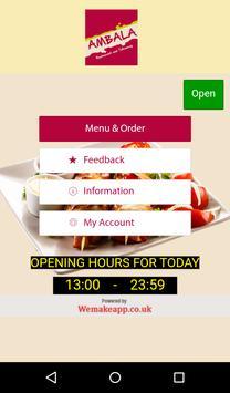 Ambala Restaurant and Takeaway poster