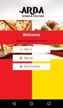 Arda Kebab and Fish Bar apk screenshot