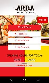 Arda Kebab and Fish Bar poster
