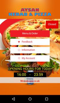 Aysan Kebab and Pizza Ramsgate poster