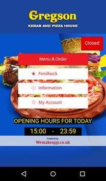 Gregson Kebab and Pizza House poster