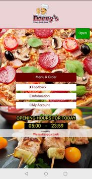 Dannys Pizza and Kebab House poster