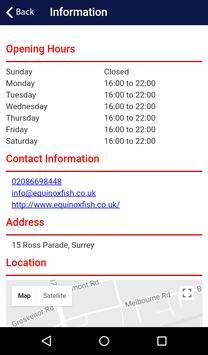 Equinox Fish Bar Wallington apk screenshot