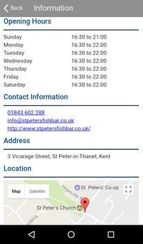 St Peters Fish Bar apk screenshot