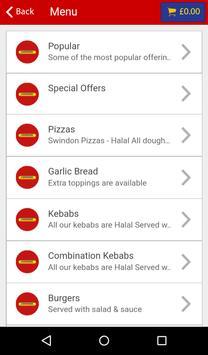Swindon Kebab House apk screenshot