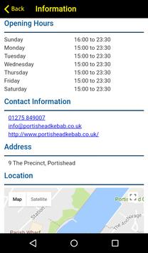 Portishead Kebabs and Pizza apk screenshot