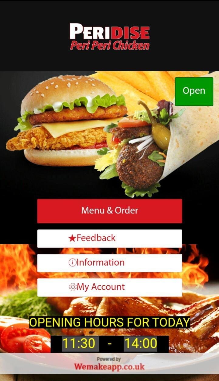 Peridise Periperi Chicken for Android - APK Download